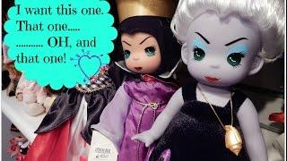 Precious Moments DISNEY Doll Collection at Disney World EPCOT