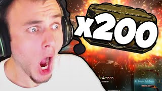 x200 ADVANCED SUPPLY DROPS! (EPIC OPENING and Elite M1 Irons!?)