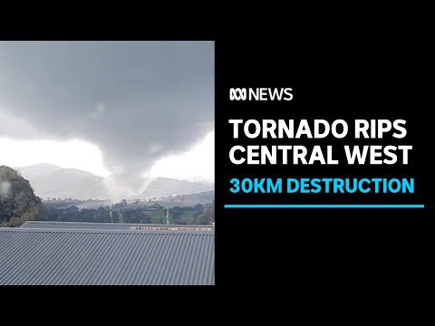 Tornado tears through Central West of NSW, damaging properties | ABC News