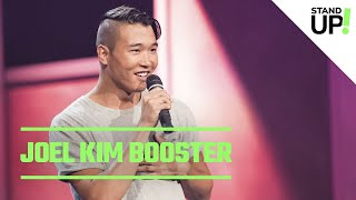 Joel Kim Booster Talks Being Single, Waiters With Neck Tattoos