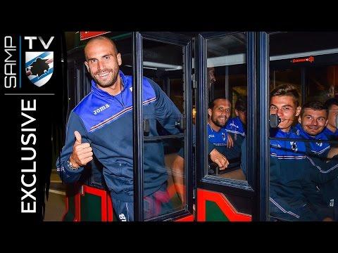 La presentazione della Sampdoria a Ponte di Legno