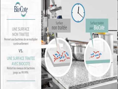 BioCote in Action - Commercial Kitchen - FR