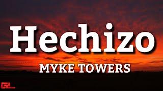 Hechizo - Myke Towers (Letras/Lyrics) #EASYMONEYBABY