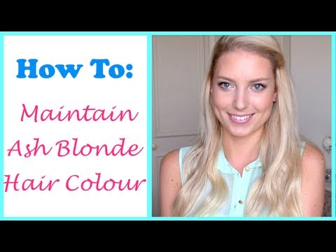 All About My Hair Colour ♡ How To Maintain Ash Blonde