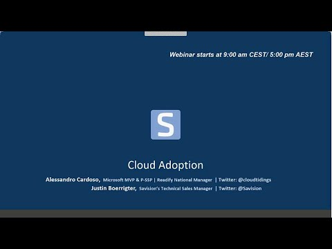 Cloud Adoption webinar