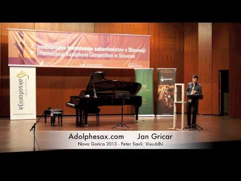 Jan Gricar - Nova Gorica 2013 - Peter Savli Visuddhi