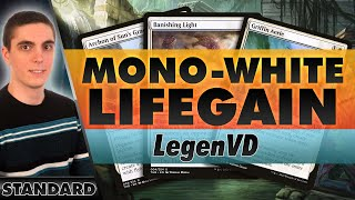 Mono-White Lifegain - Standard MTG | LegenVD