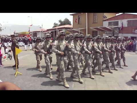 Desfile 8 de Octubre - Mejillones. Chile
