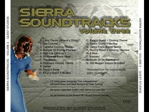 Sierra Soundtracks (Volume Three) (Quest Studios) [1999] [OST]