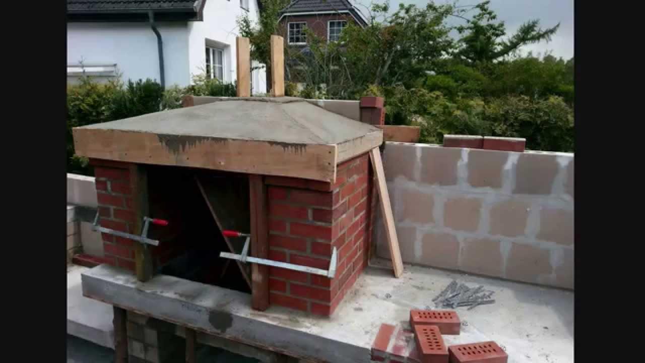 gartengrill gemauert masoned barbecue grill youtube. Black Bedroom Furniture Sets. Home Design Ideas