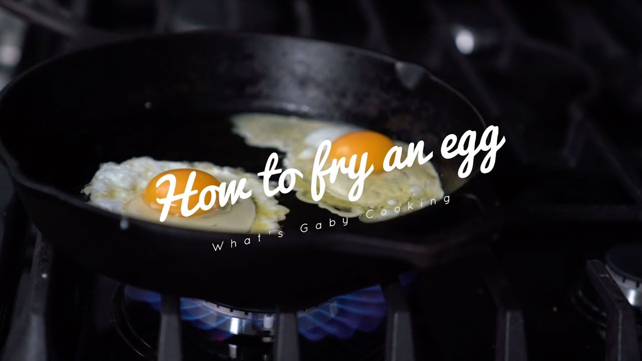 How to fry an egg in 5…