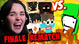 Reaction to DREAM vs. 4 HUNTERS FINALE REMATCH! | Dream Reaction Series