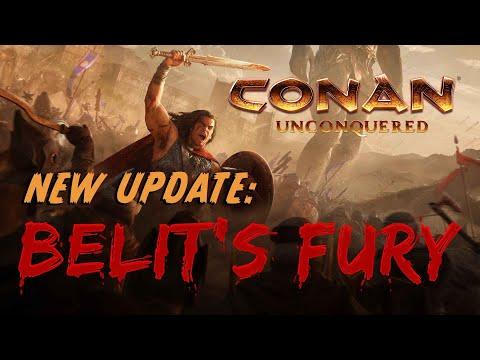 NEW Conan Unconquered update - Bêlit's Fury