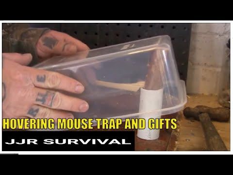 Hovering mouse trap and gifts