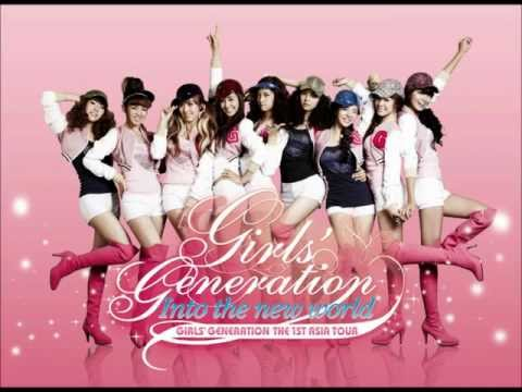 [1080p] Girls' Generation (SNSD) Into the new world (remix short version clean edition)