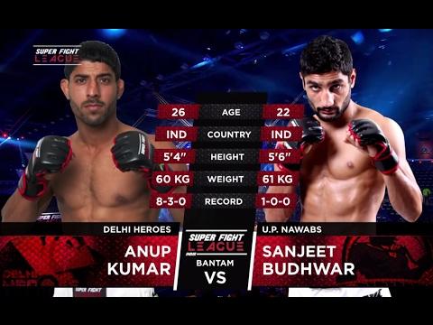 Anup Kumar v/s Sanjeet Budhwar | Delhi Heroes v/s UP Nawabs