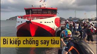 Vũng Tàu - Côn Đảo bằng Xe Máy | Tập 1: Tàu Cao Tốc 3 Tiếng