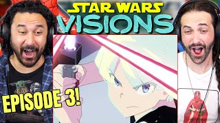 """STAR WARS VISIONS 1x3 REACTION!! """"The Twins"""" Episode 3 Spoiler Review 