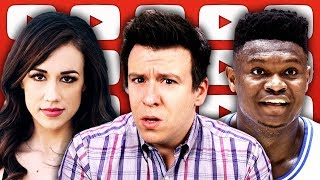 Why Colleen Ballinger & Top Youtubers Are Freaking Out, Zion Nike Controversy, & More