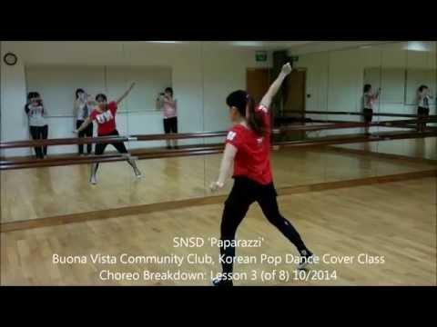 'Paparazzi' Kpop Dance Tutorial (Lesson 3)
