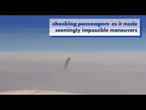 UFO Caught On Camera By Passenger...Will Aliens Offer A Better Flying Experience