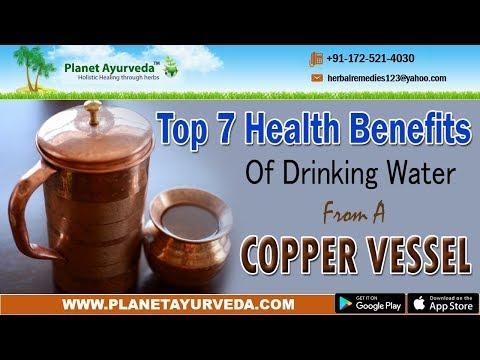 Health Benefits Of Drinking Water in Copper Vessel