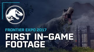 Jurassic World Evolution - First In-Game Footage