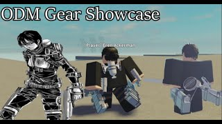 ODM Gear SHOWCASE | AoT:Insertplayground |
