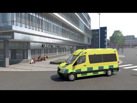 Guidad tur till framtidens Danderyds sjukhus