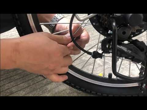 How to replace the spoke AN-EB002
