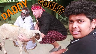 Mutton Sukka with Daddy and Sonny - Best ever food COLLAB - Full Sheep
