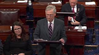 Sen. McConnell Refuses to Let Sen. Warren Speak About Attorney General Nominee Sessions