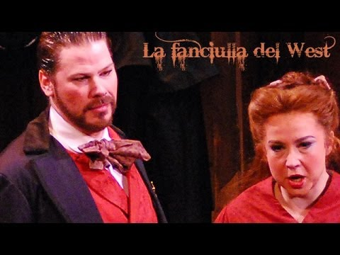 Minnie, dalla mia casa, from Act I of 
