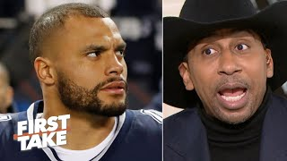 Stephen A. blames Dak Prescott for the Cowboys' loss to the Bears | First Take