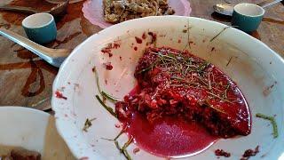 Món Ăn Kinh Dị Tiết Canh Lợn Rừng ✓ Poòng Văn Quỳnh