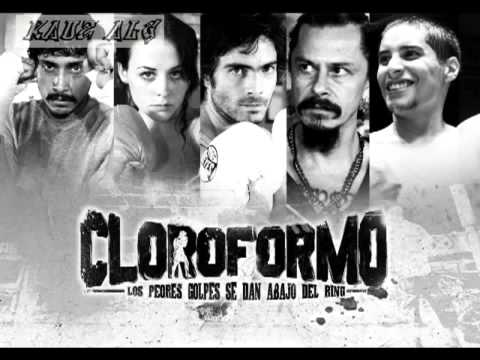 cartel de santa  cloroformo completa