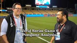 Analyzing The Dodgers Game 6 Win   Los Angeles Times