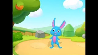 kids Drawing with color learning of rabbit with animation