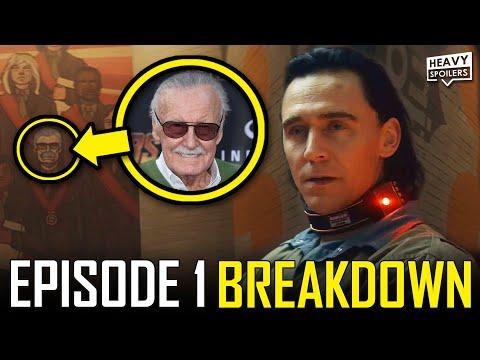 LOKI Episode 1 Breakdown & Ending Explained Spoiler Review | Marvel Easter Eggs & Things You Missed