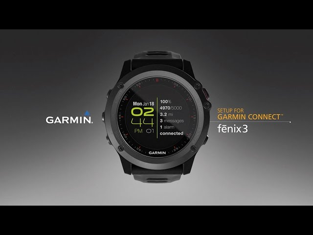 learn how to use garmin connect for vivosmart 3