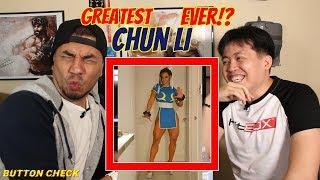 "Judging The GREATEST ""Chun Li"" of ALL TIME! Button Check"