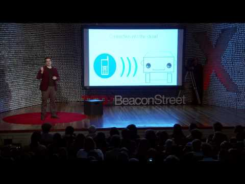 Blab Droids -- Self-learning Social Cloud Robots: Alex Reben At TEDxBeaconStreet - Smashpipe Tech