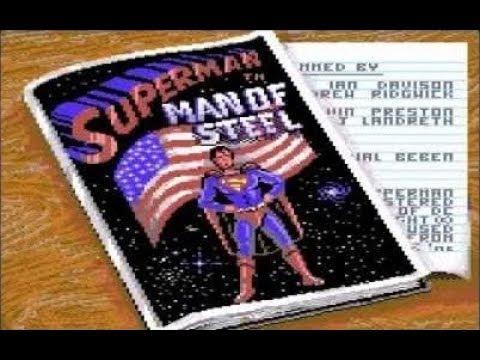 Superman - Man of Steel (Commodore 64) - Review de RETROJuegos por Fabio Didone