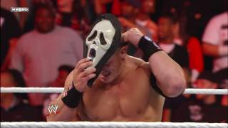 A horror movie icon attacks John Cena: Raw, Oct. 31, 2011