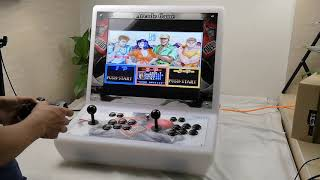 Ratio 4:3 19 Inch LCD Rasperry Pi 3 Bartop RecalBox System 10K Games installed Arcade Machine