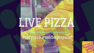 Cooking with Cody | Home made pizzas | hot dog stuffed crust margarita marmite garlic bread darylea