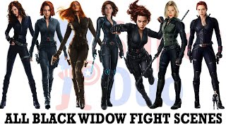 All Black Widow fight scenes | Including Avengers Endgame
