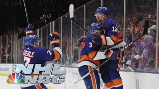 NHL Stanley Cup Playoffs 2019: Penguins vs. Islanders   Game 1 Highlights   NBC Sports