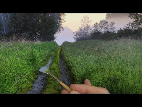 Painting a Misty Landscape | Time Lapse | Episode 147