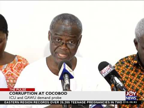 Corruption at cocobod - The Pulse on Joy News (29-4-16)